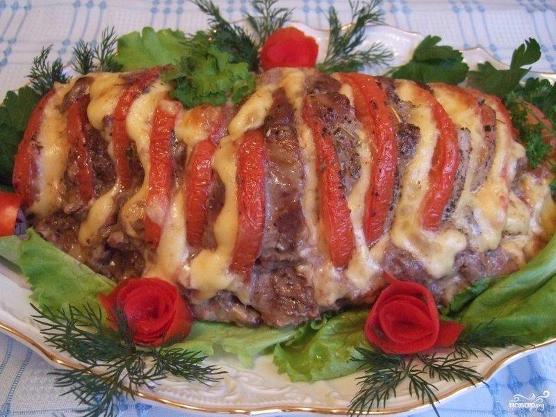 Рецепт из мясо свинины в духовке пошаговый рецепт с