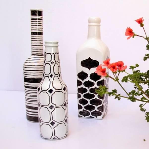 Сделать дизайн бутылки