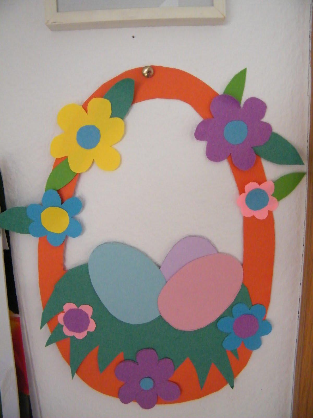 Поделка из бумаги на пасху своими руками в детский сад 39