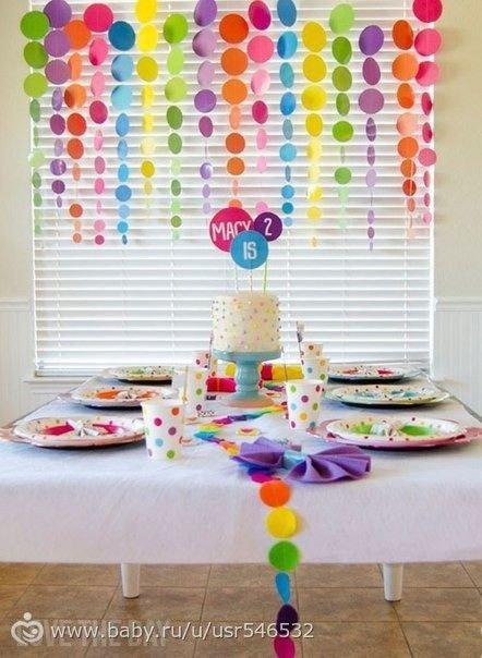 Оформление на день рожденье своими руками 849