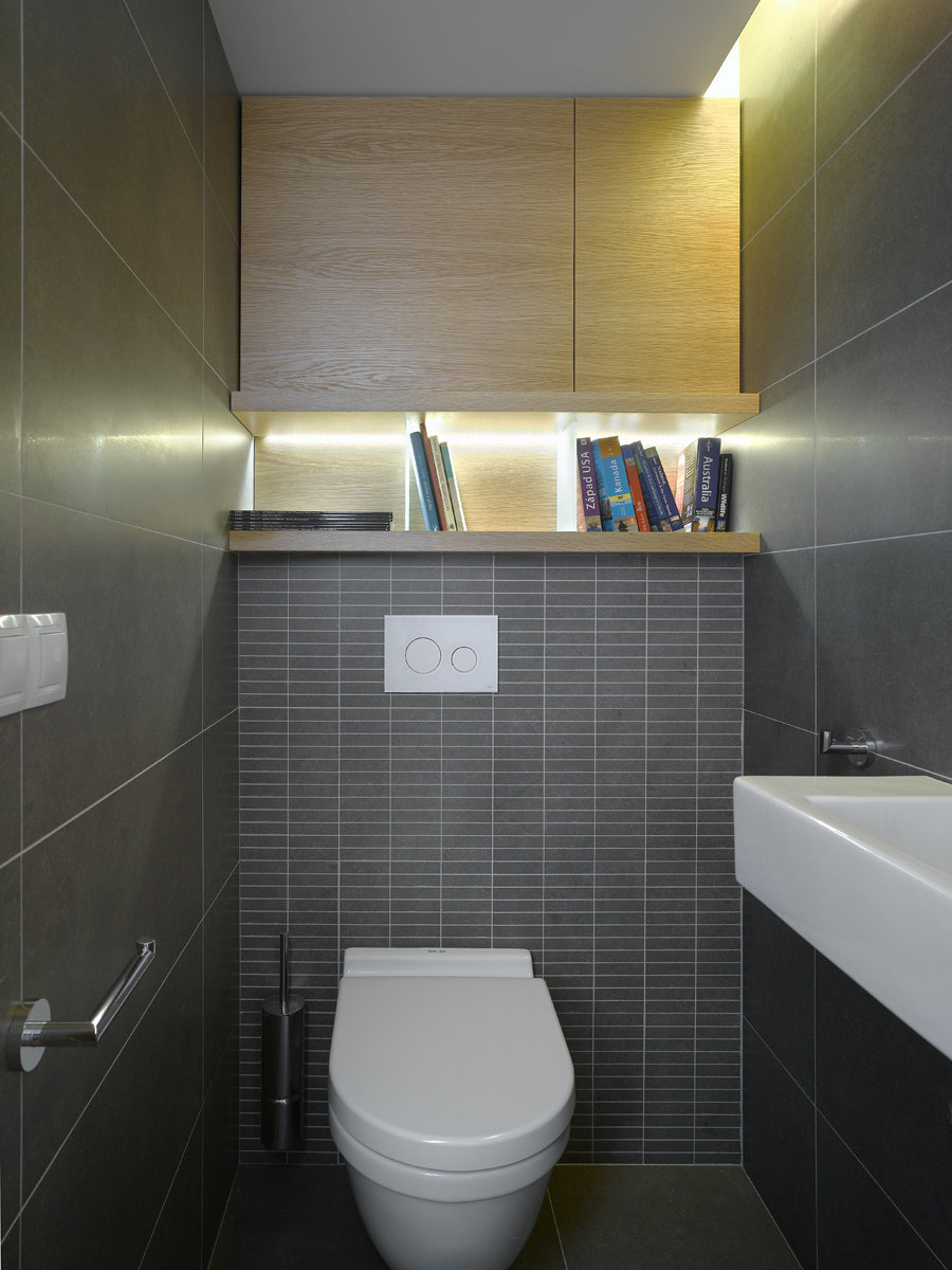 Фото дизайна шкафчиков в туалете