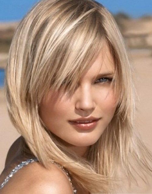Стрижки и милировка на средние волосы