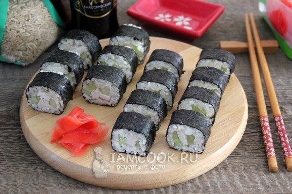Суши запеченные приготовление в домашних условиях