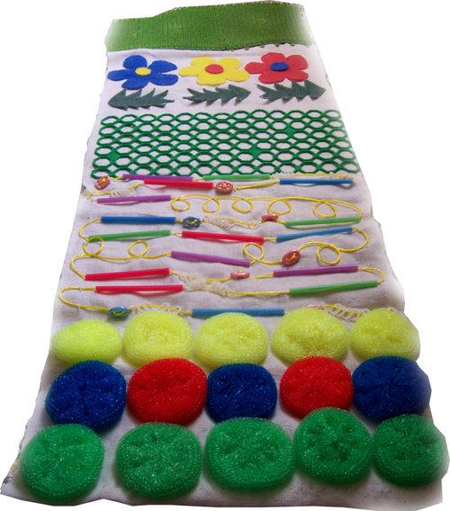 Массажный коврик для детей своими руками из пуговиц своими руками