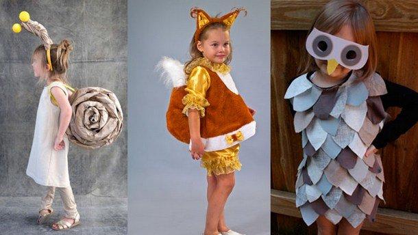 Новогодние костюмы для девочки своими руками быстро