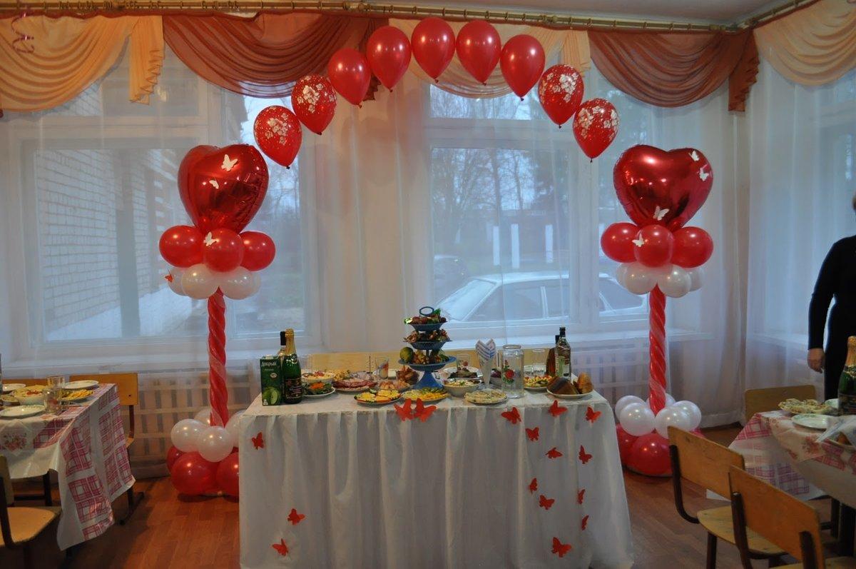 Украсить зал для свадьбы своими руками недорого 259