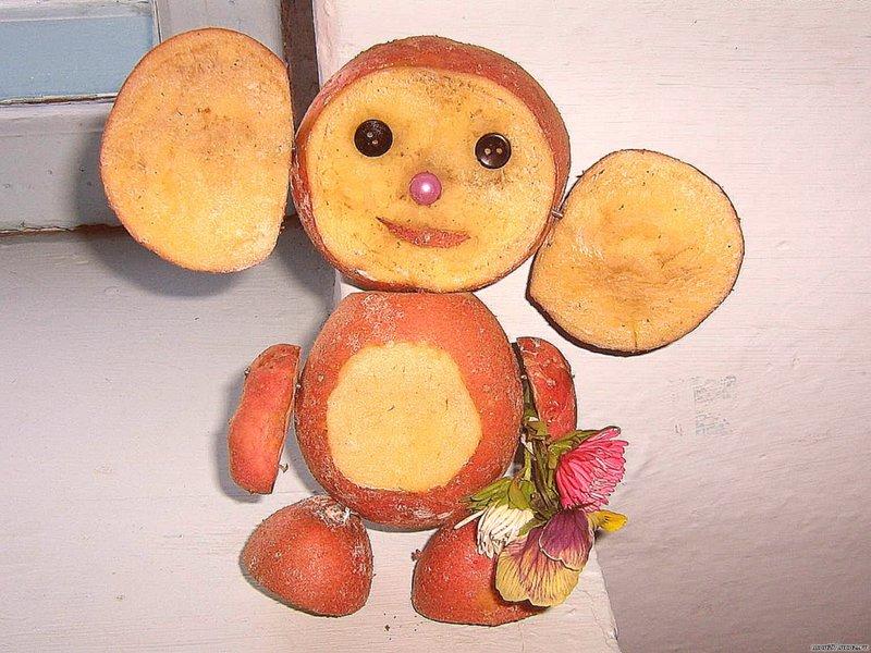 Выставка поделок из овощей и фруктов своими руками