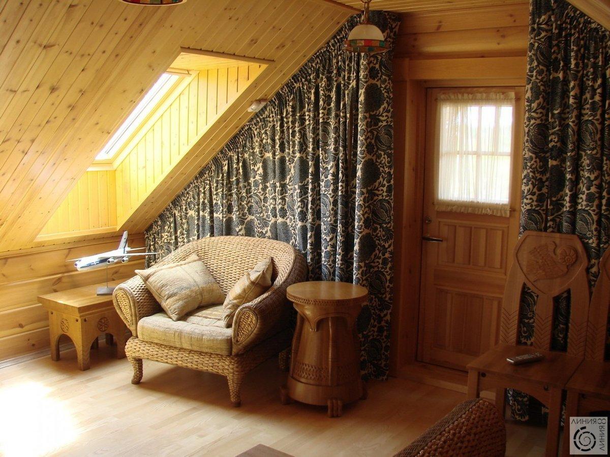 Как сделать обои в деревянный дом 906