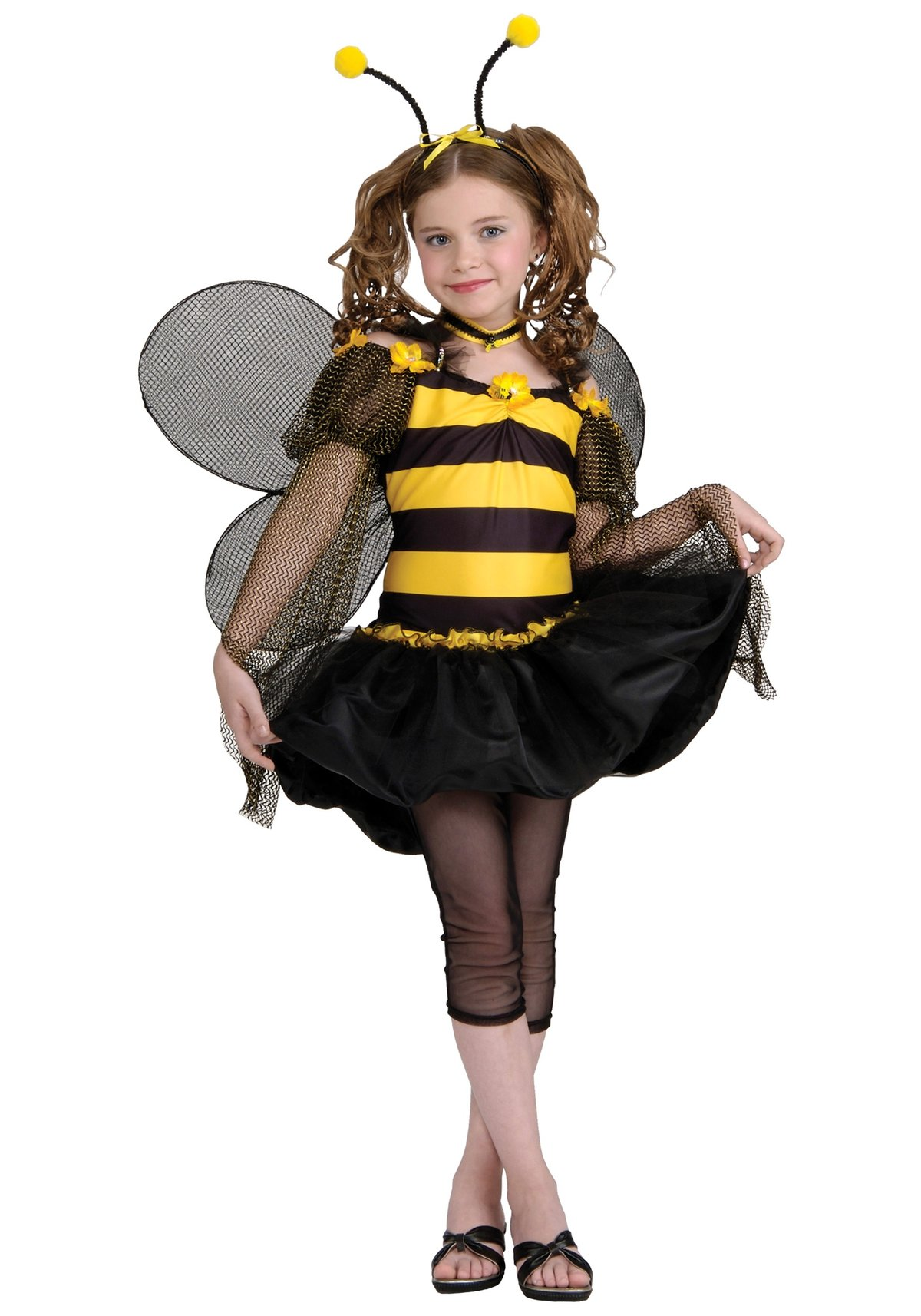 Костюм пчёлки для девочки своими руками