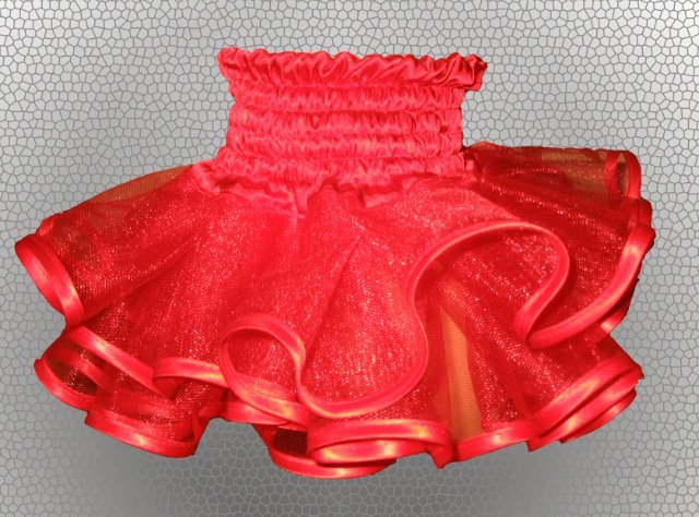 Многослойная юбка для девочки своими руками 98