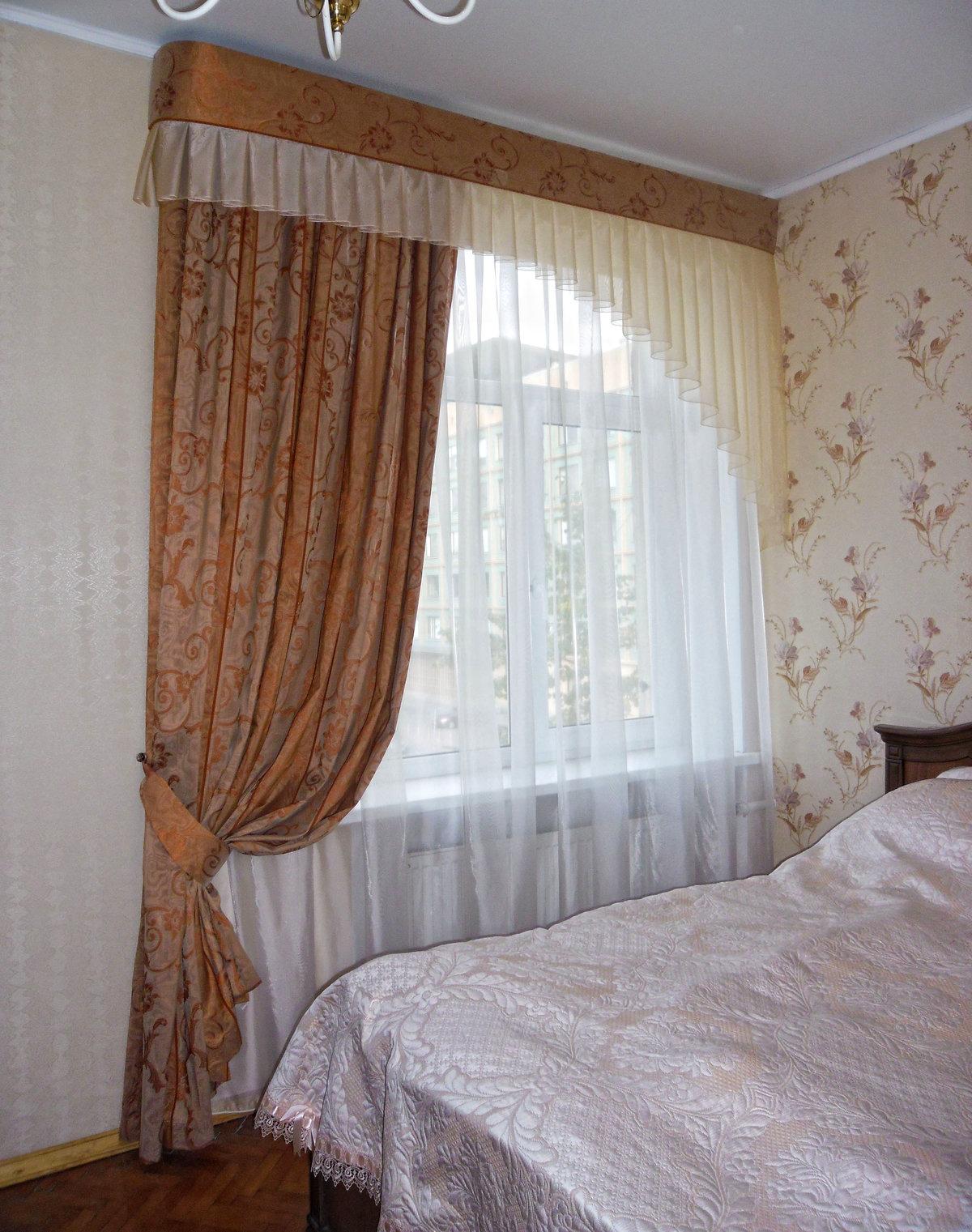 Шторы для спальни своими руками фото выкройки