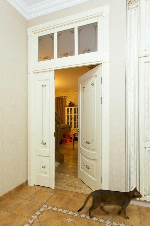 Двери межкомнатные с фромугой