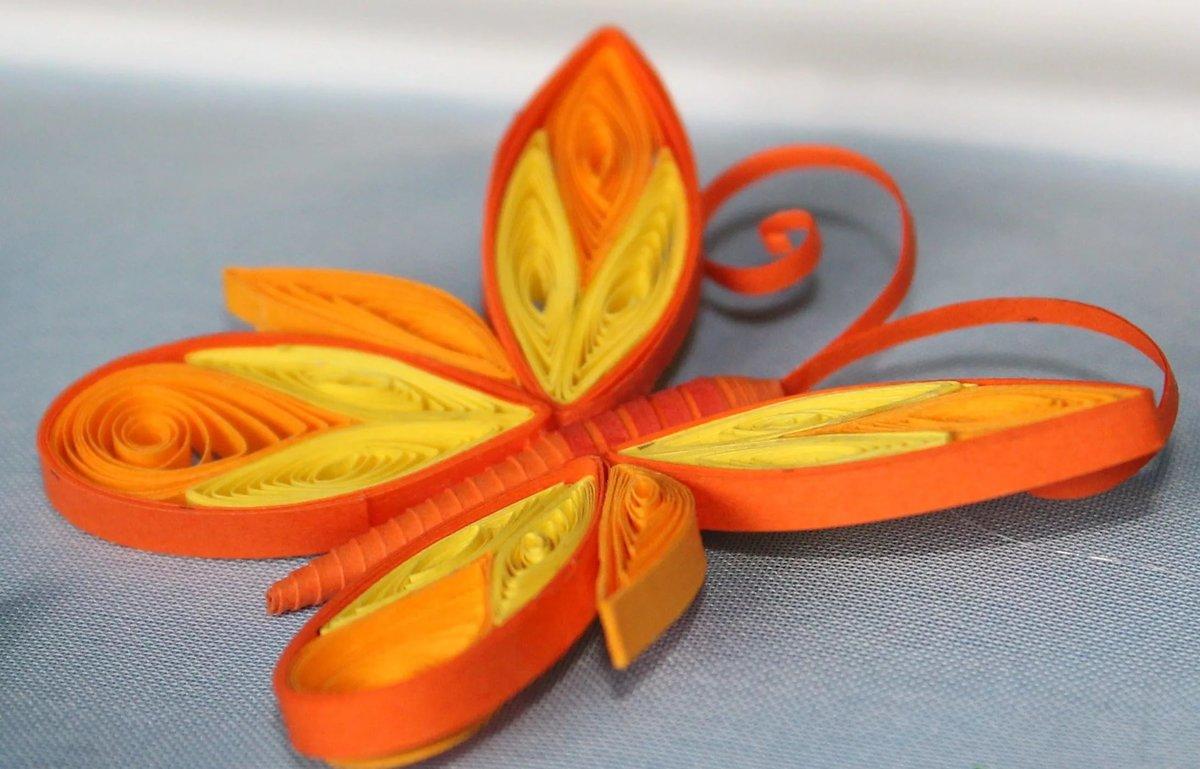 Бабочки из гофрированного картона своими руками
