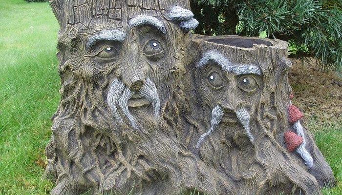 Скульптура в сад своими руками 56