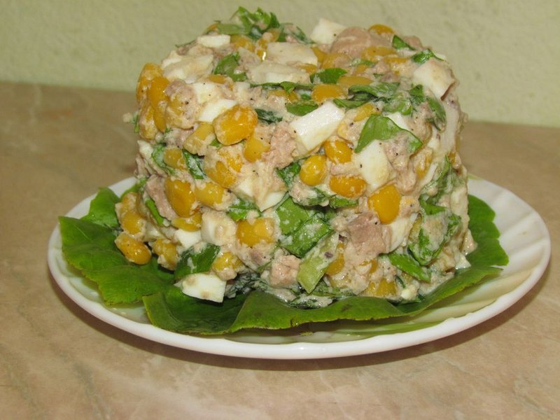 Салат с печени трески рецепт пошагово