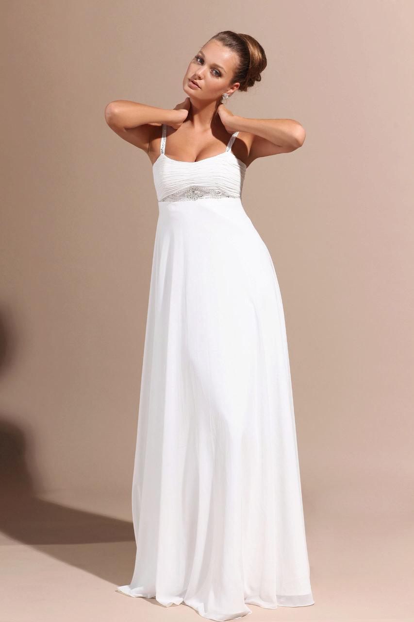 Фасон свадебного платья для беременных