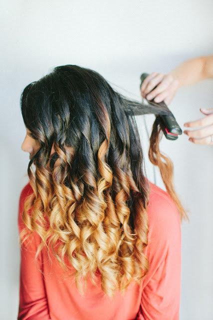 Как сделать локоны утюжком на длинные волосы