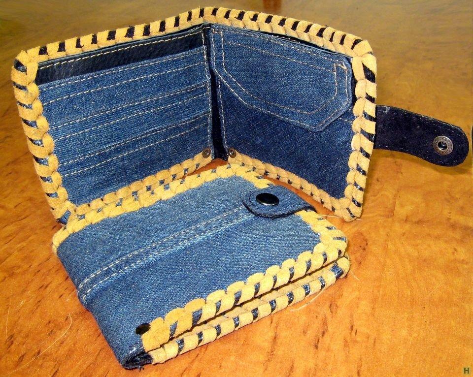 Сшить кошелек своими руками из джинс 309
