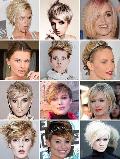 Модные стрижки 2017 на короткие волосы для женщин за 40 лет 175