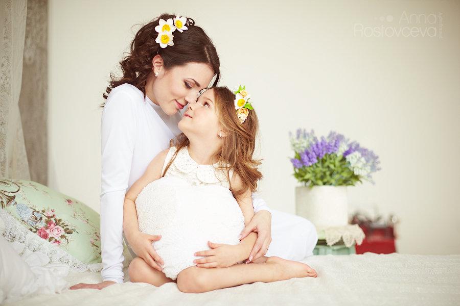 Идеи фотосессии мама с дочкой фото