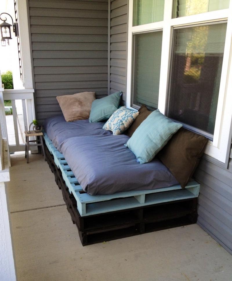 Мягкая мебель из поддонов своими руками - это диван, который.