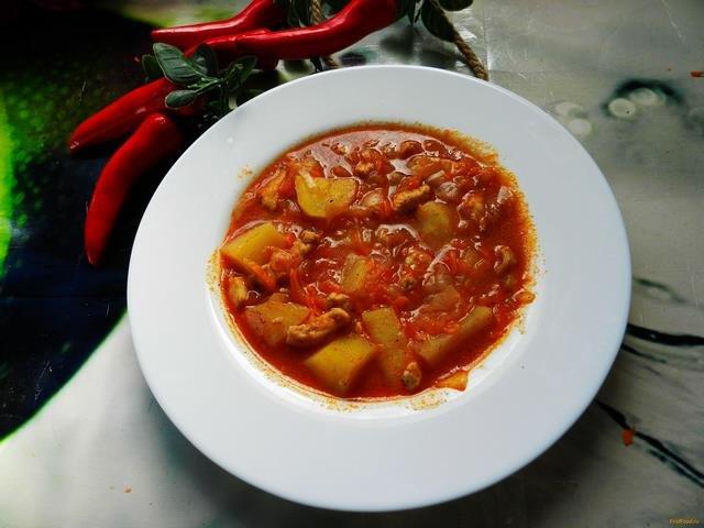 Как сделать курицу с томатной пастой