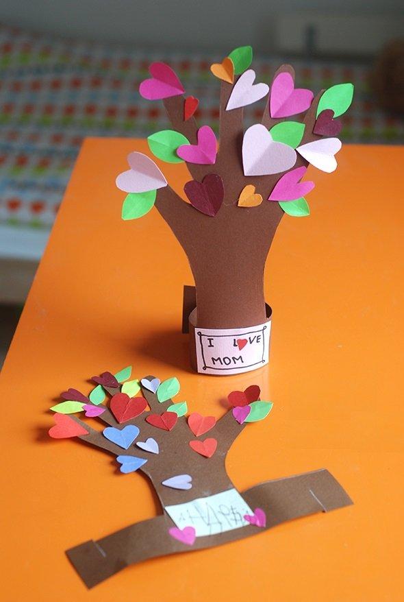 Поделки из дерева маме 13