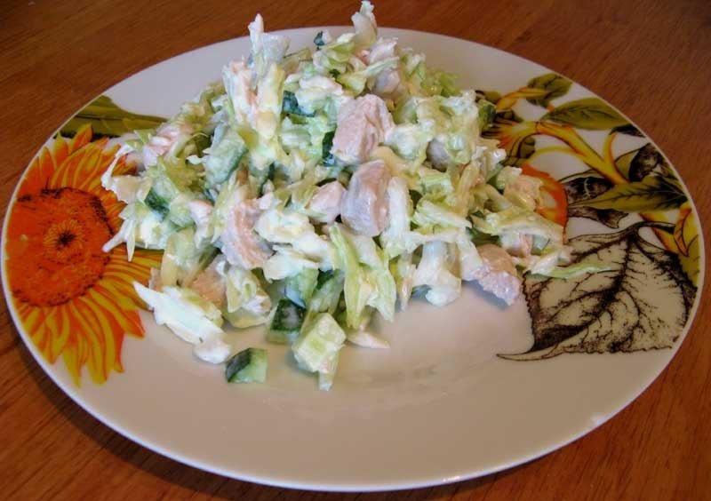 Вкусные и легкие для приготовления салаты с