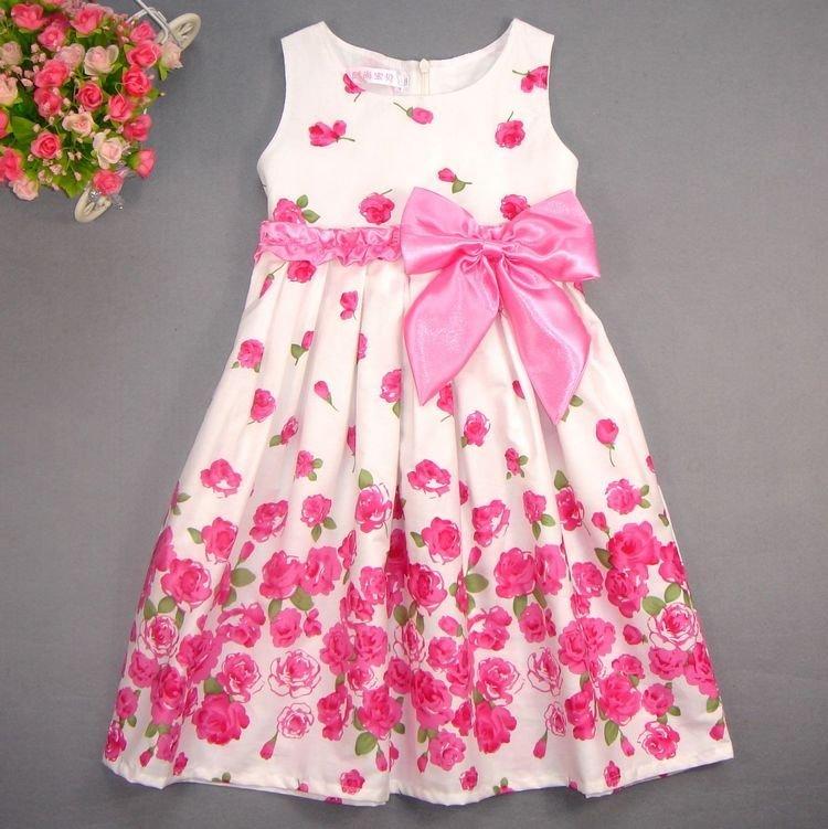 Фото хлопковые платья для девочек