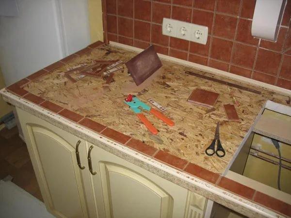 Как сделать столешницу из дерева своими руками на кухню 84