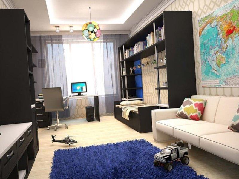 Интерьер комнаты для мальчика все