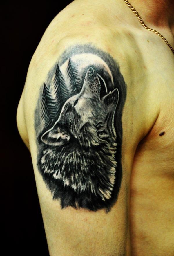 Тату волка обозначение и