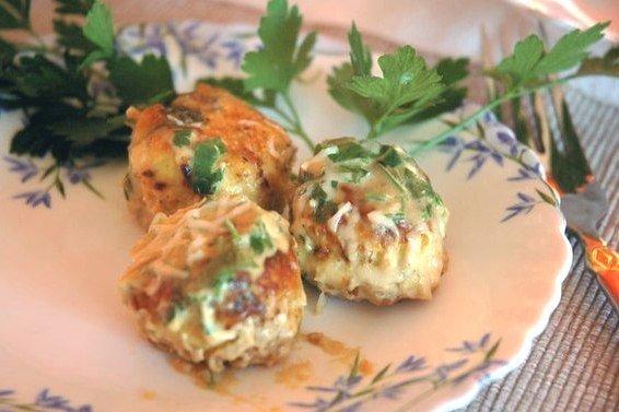 Куриные шарики в сливочном соусе пошаговый рецепт 159