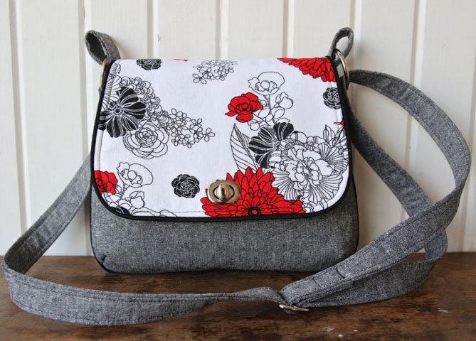 Маленькие тканевые сумочки через плечо своими руками
