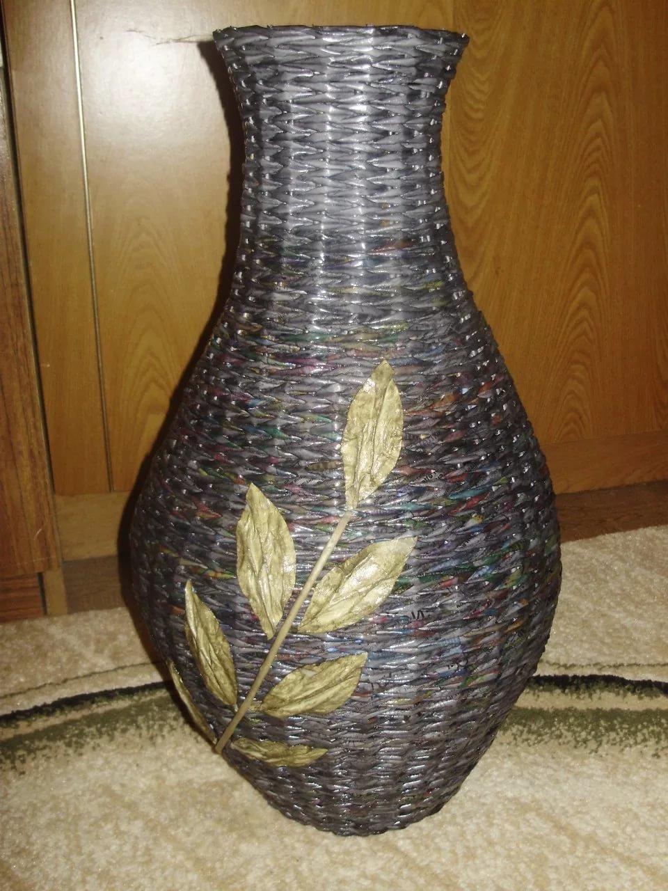 Своими руками вазу мастер класс