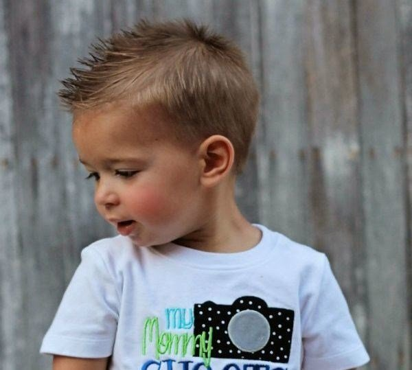 Красивые прически на мальчика фото