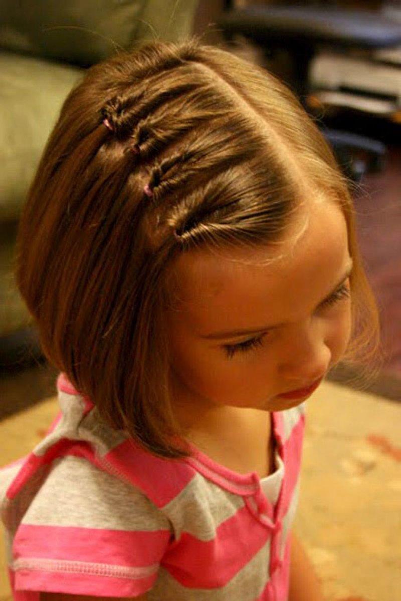 Стрижки на средние волосы для школы