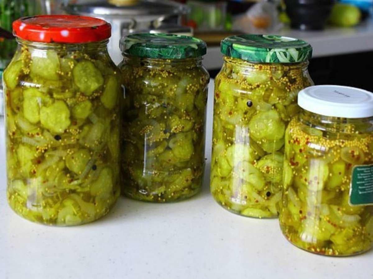Консервируем салат из огурцов на зиму рецепты