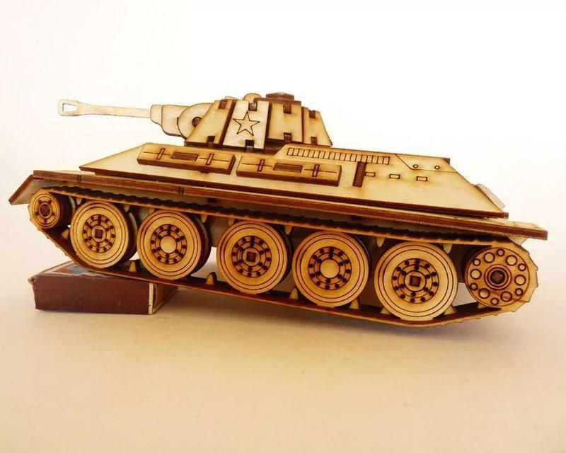 Вид танка своими руками