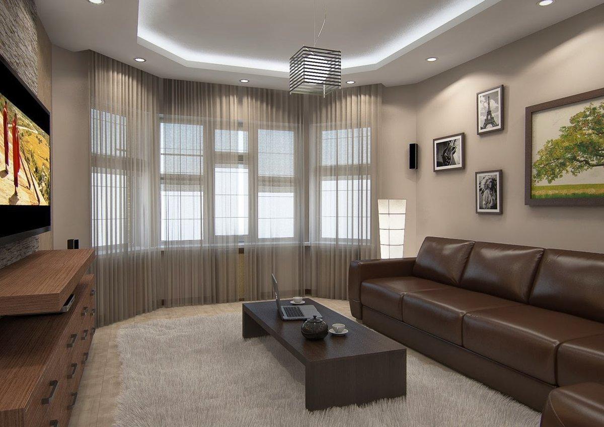 Дизайн гостиной в частном доме 22 кв м