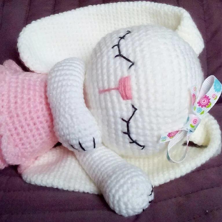 Игрушка для сна ребенка своими руками крючком 75