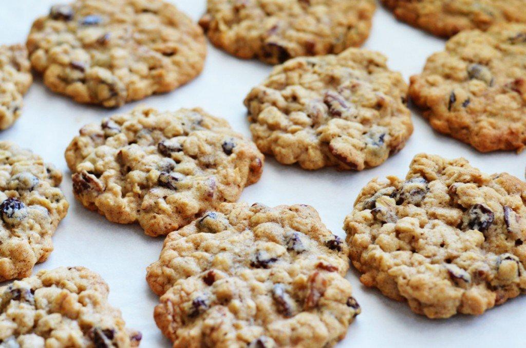 Овсяное печенье с корицей рецепт