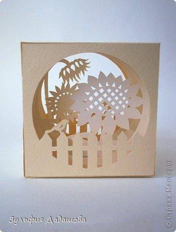 Объемная открытка производство 100