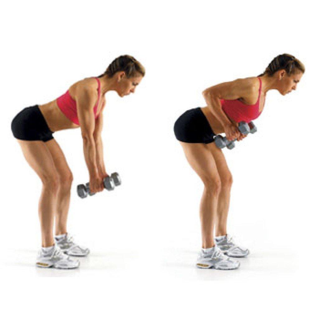 Упражнения с гантелей в домашних условиях фото