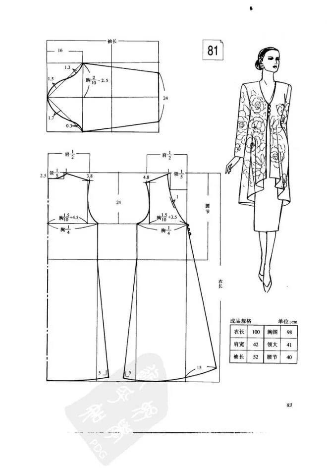 Как сшить платье кардиган 89