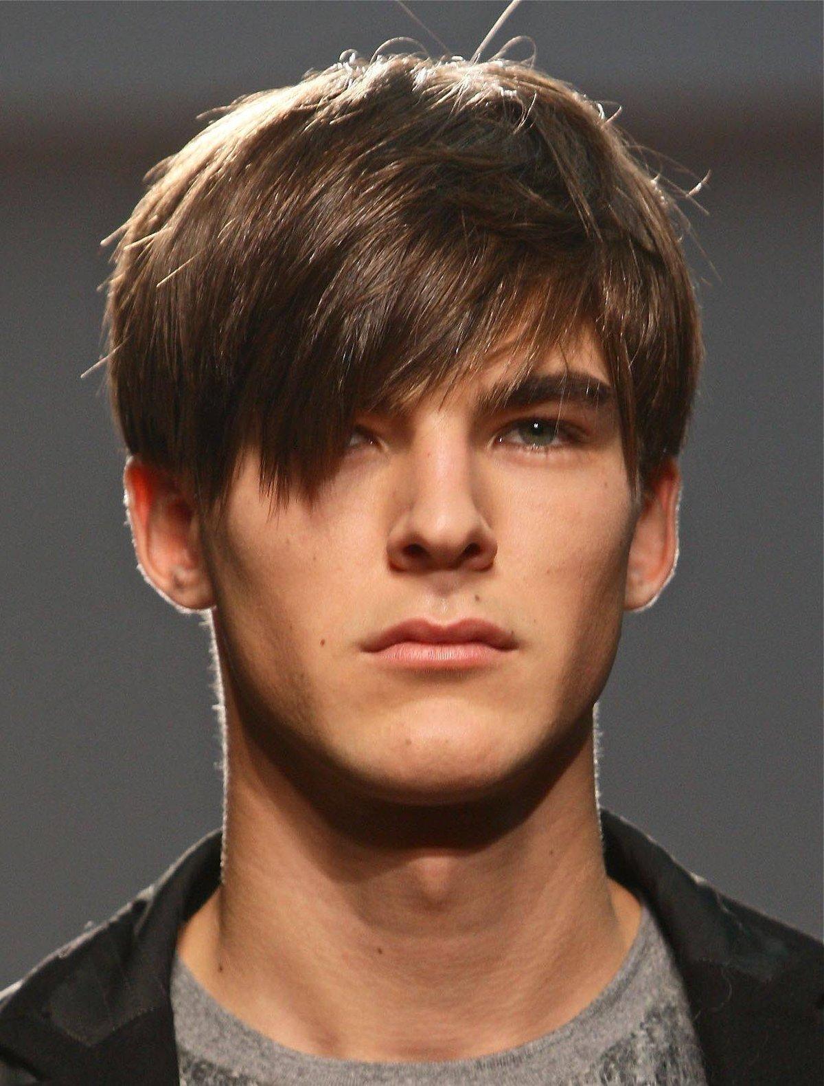 Пацанские причёски с длинными волосами