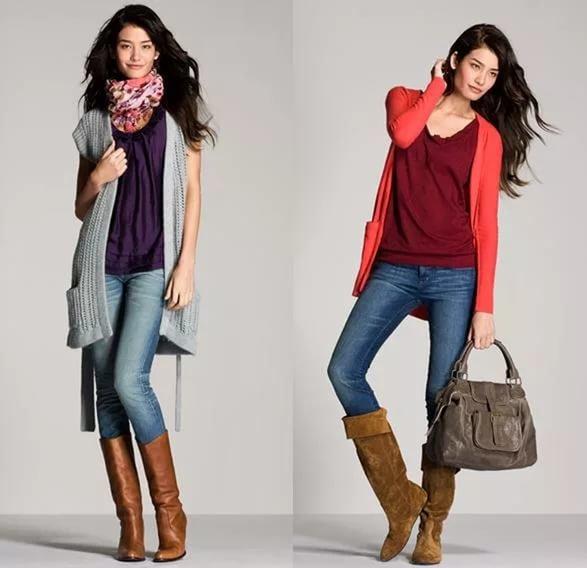 Как из простой одежды одеться модно