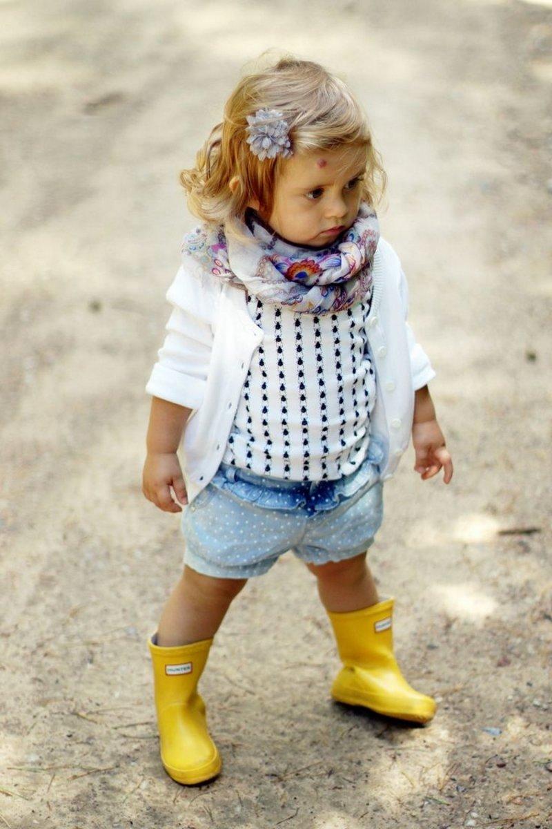 Фото модных детей 2 года