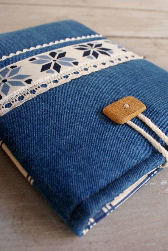 Чехол на планшет из джинсы своими руками