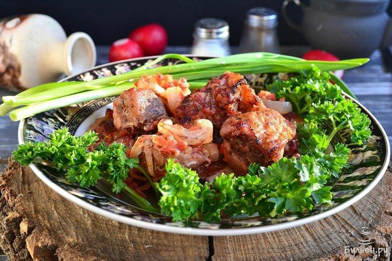 Рецепт для маринования шашлыка свиного